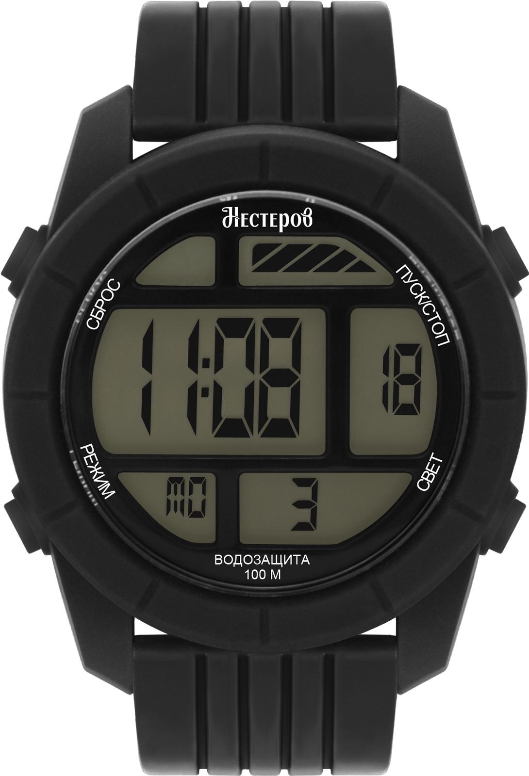 Часы Нестеров H2578A38-15E, черный все цены