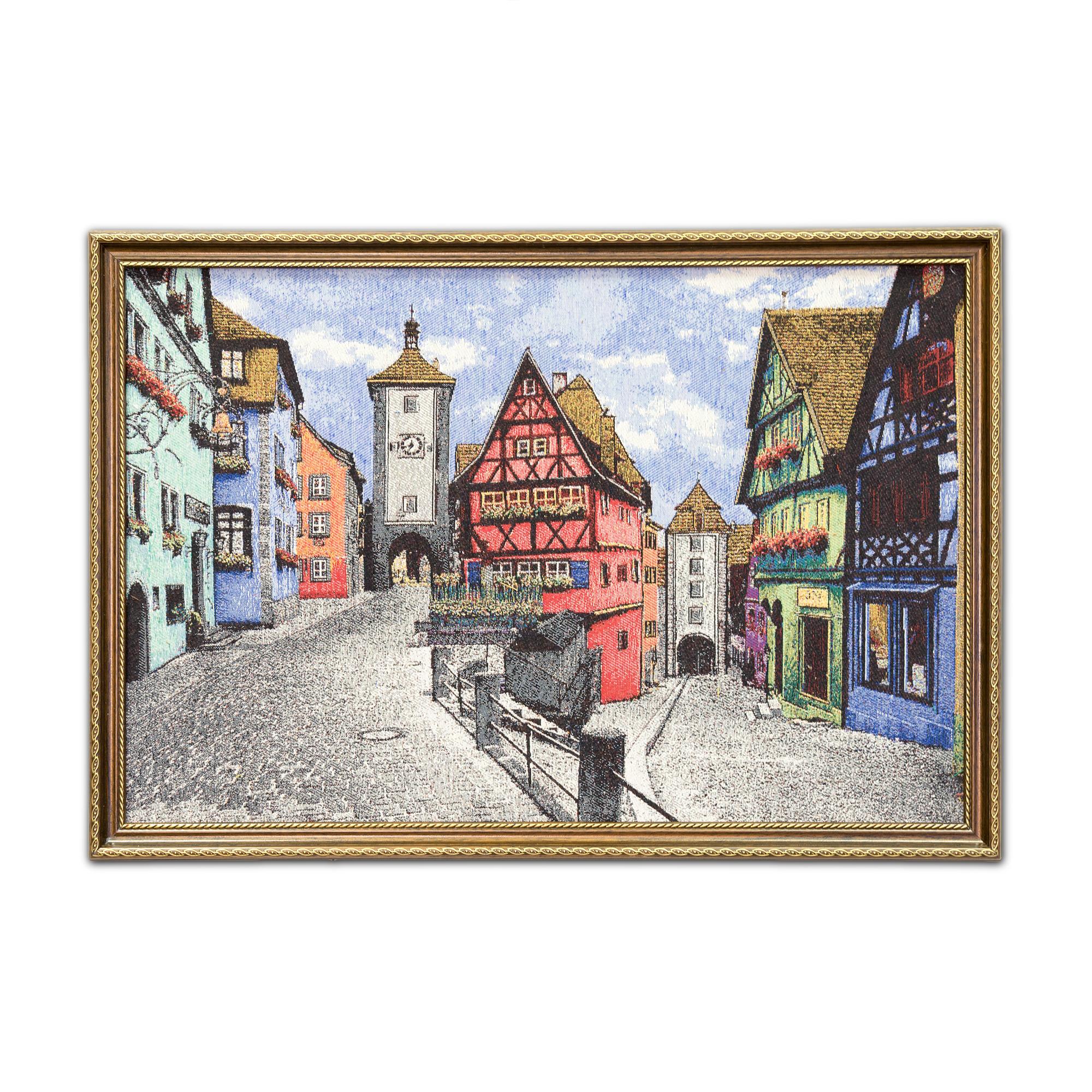 Картина Магазин гобеленов Гент 45*65 см, коричневый venierll коричневый цвет 65