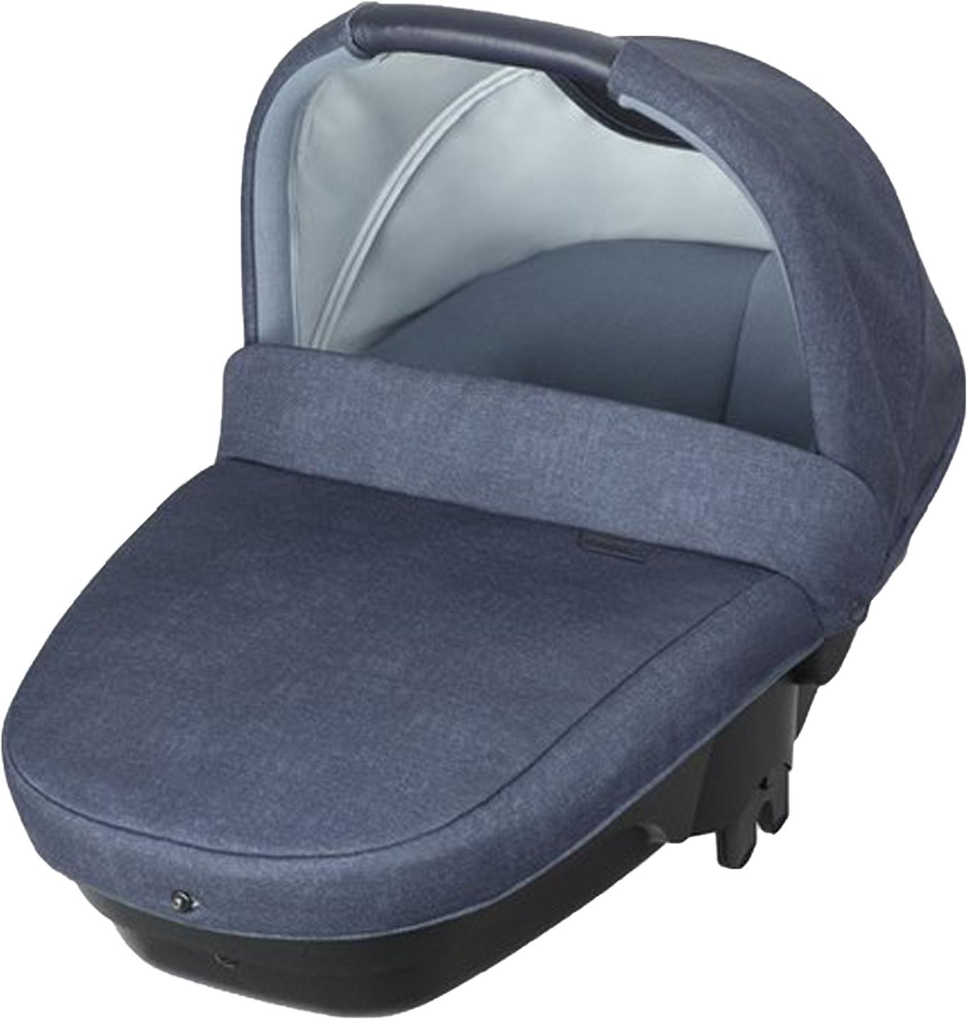 цена Люлька для коляски Bebe Confort Amber синий, темно-синий в интернет-магазинах