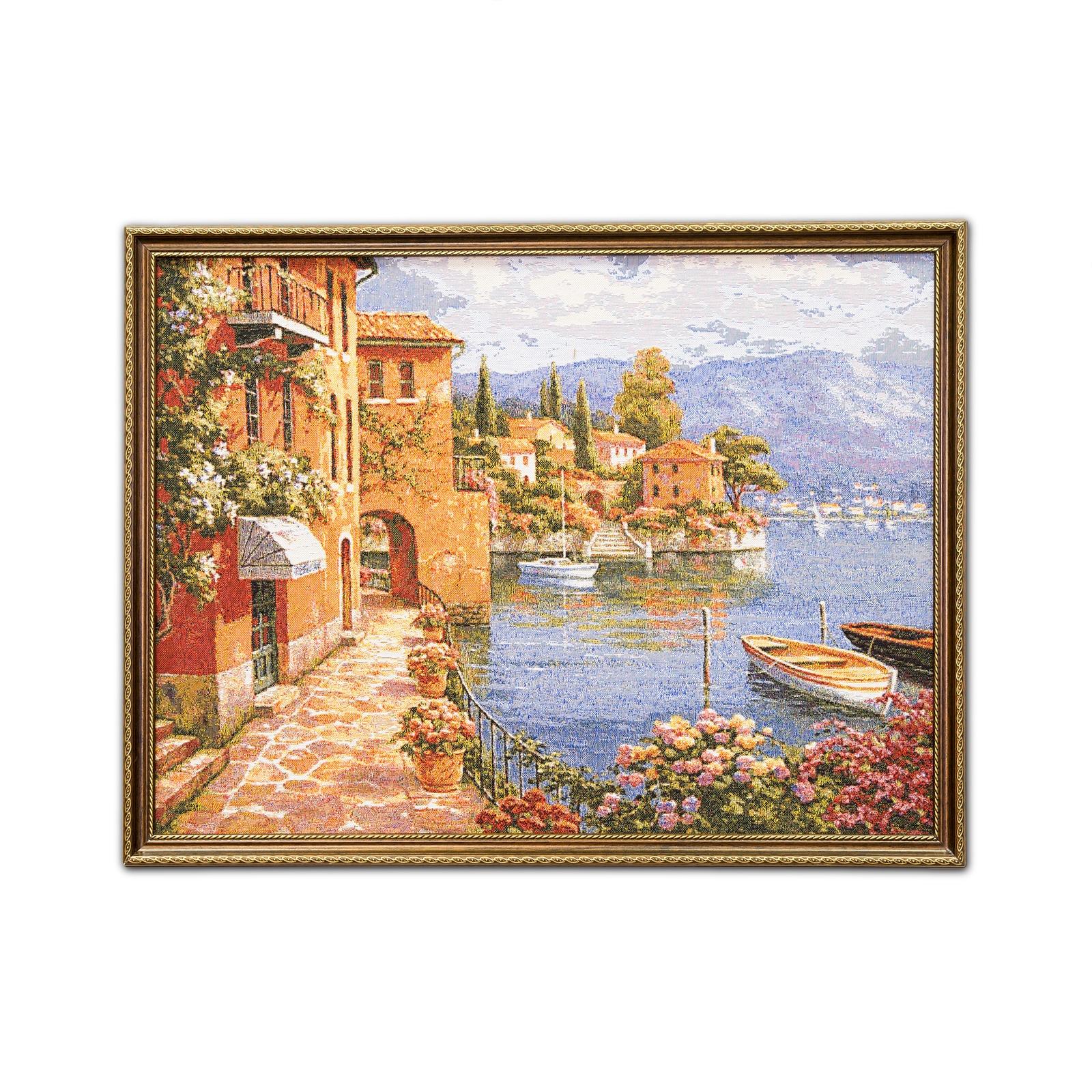 Картина Магазин гобеленов Комо-2, коричневый