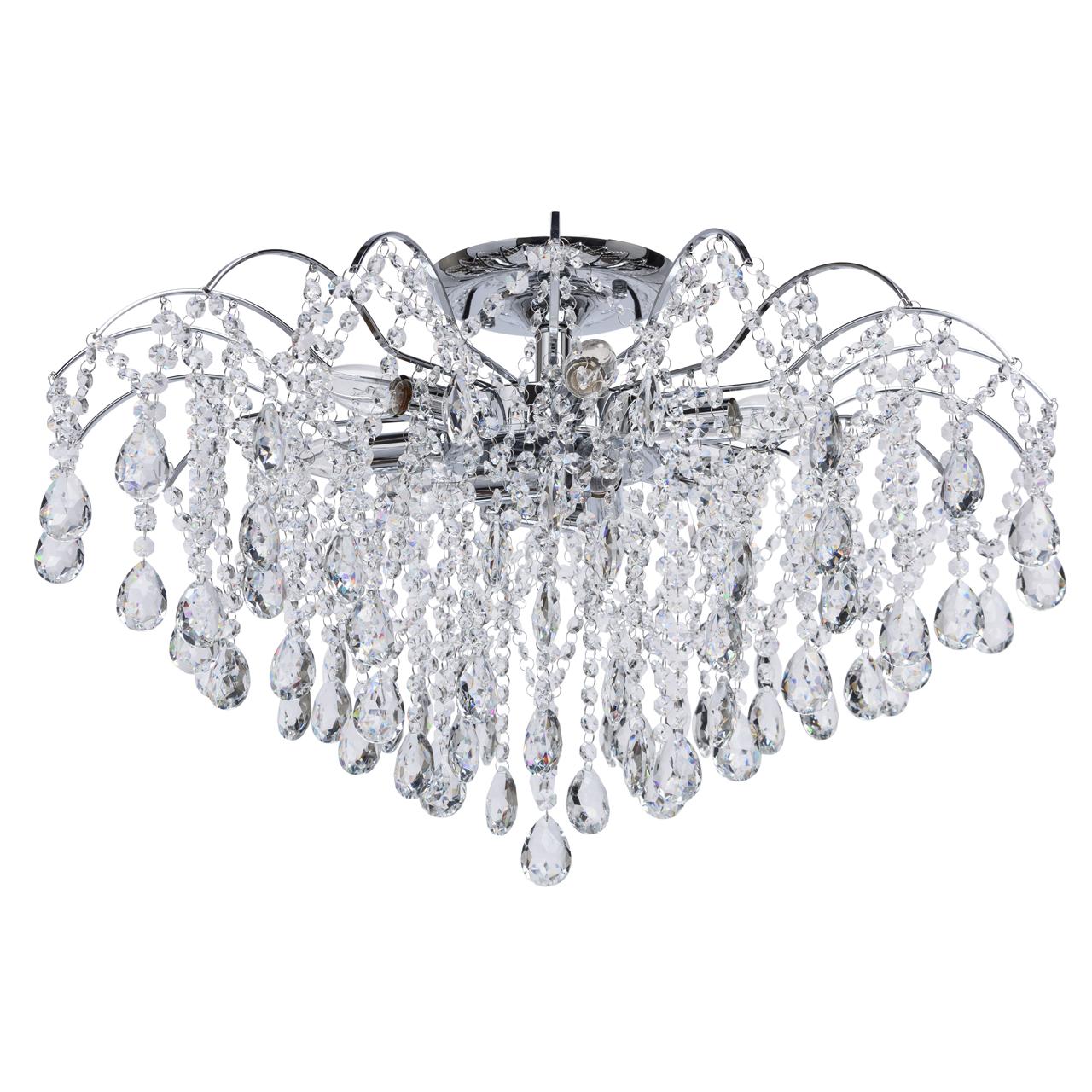 Светильник MW-Light 464018609, серебристый люстра mw light бриз 464018609