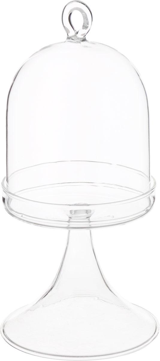 Ваза Lefard, 862-171, прозрачный, 8 х 8 х 16,5 см ваза декоративная lefard амфора 24 см