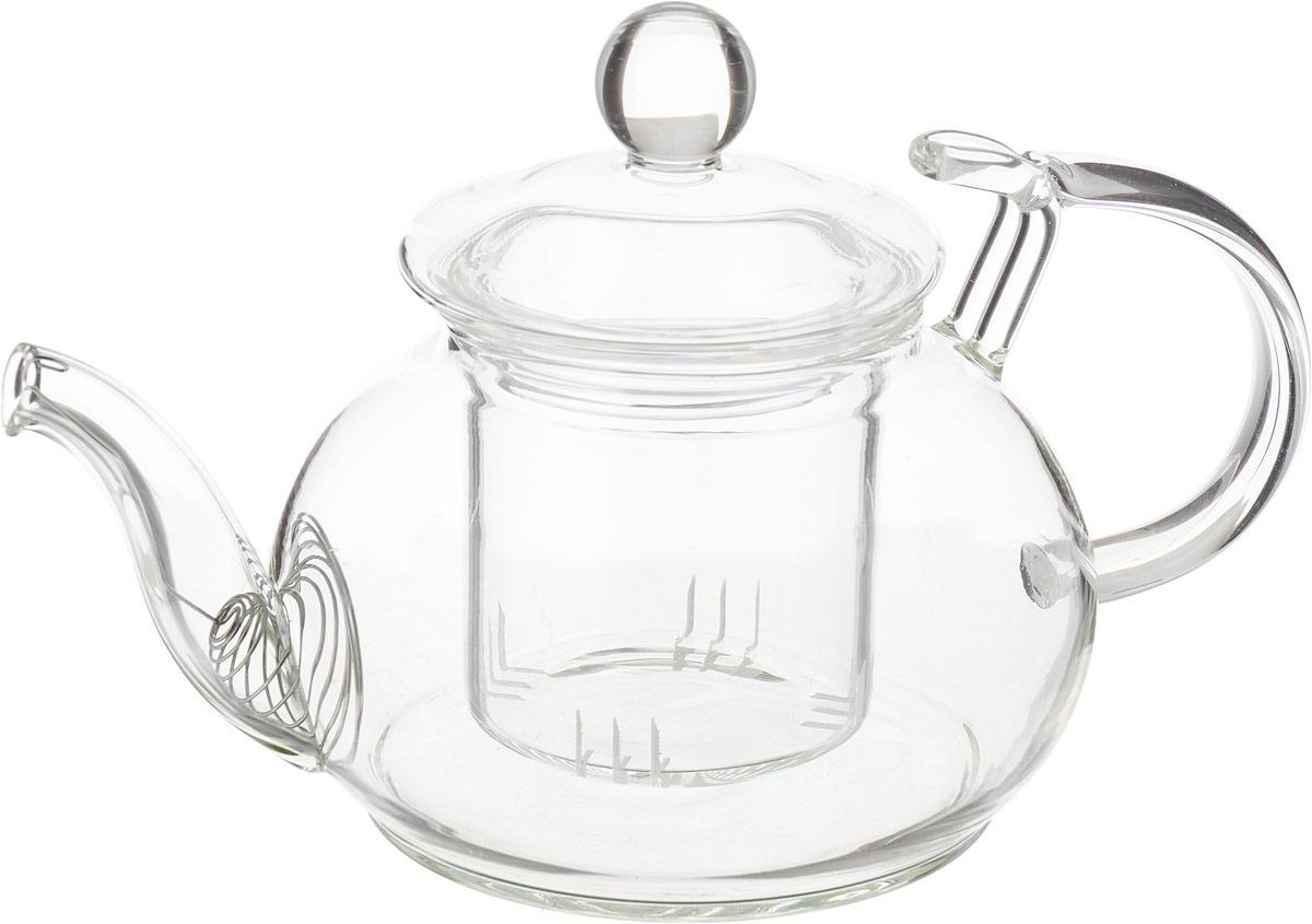 Чайник заварочный Gutenberg Розмарин, 003859, прозрачный, 450 мл чайник заварочный 450 мл ens group чайник заварочный 450 мл