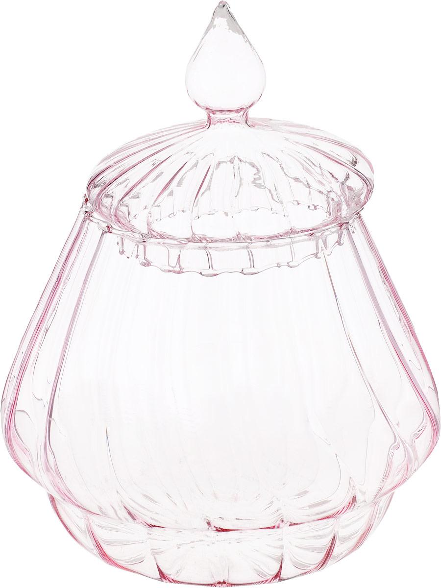 цена Ваза Lefard Candy Bar, 862-185, розовый, 13,5 х 13,5 х 16 см онлайн в 2017 году