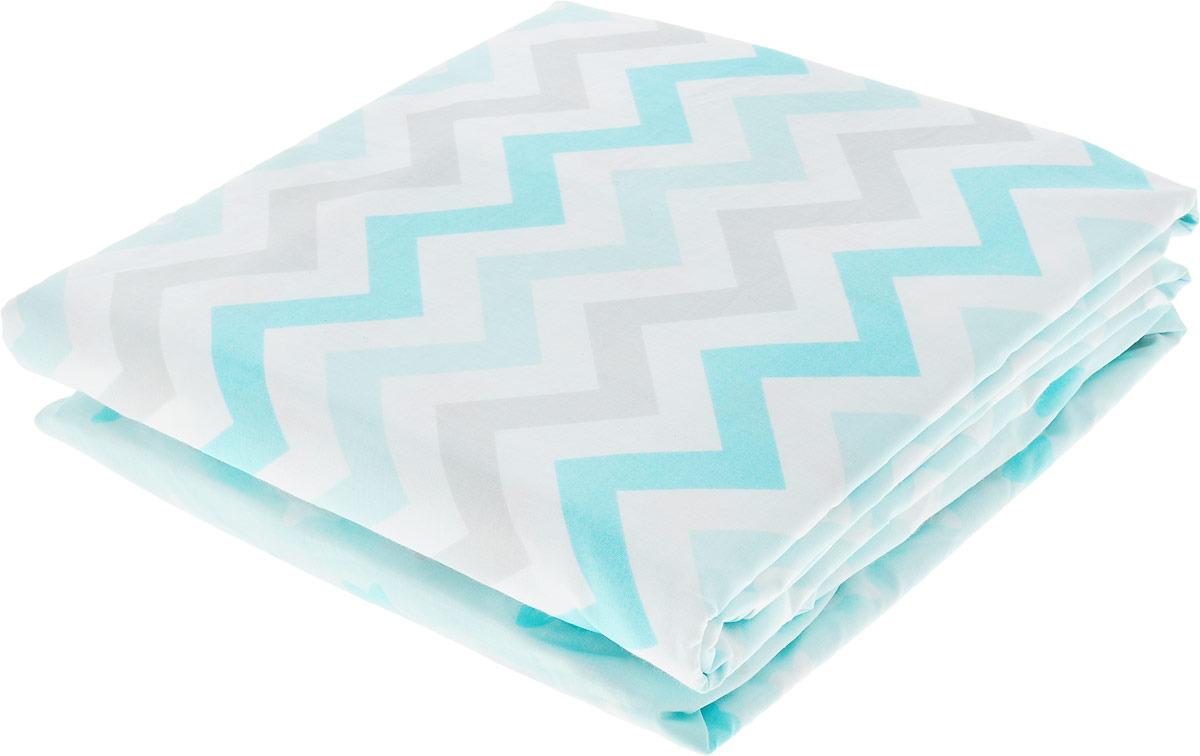 цена Комплект белья для новорожденных Sweet Baby Colori Blu, 420987, голубой, 4 предмета онлайн в 2017 году