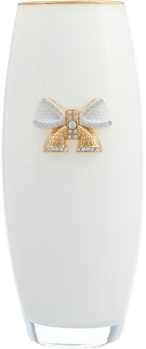 Ваза Lefard, 802-165701, белый, высота 26 см ваза arti m 882 058 золотой высота 18 см