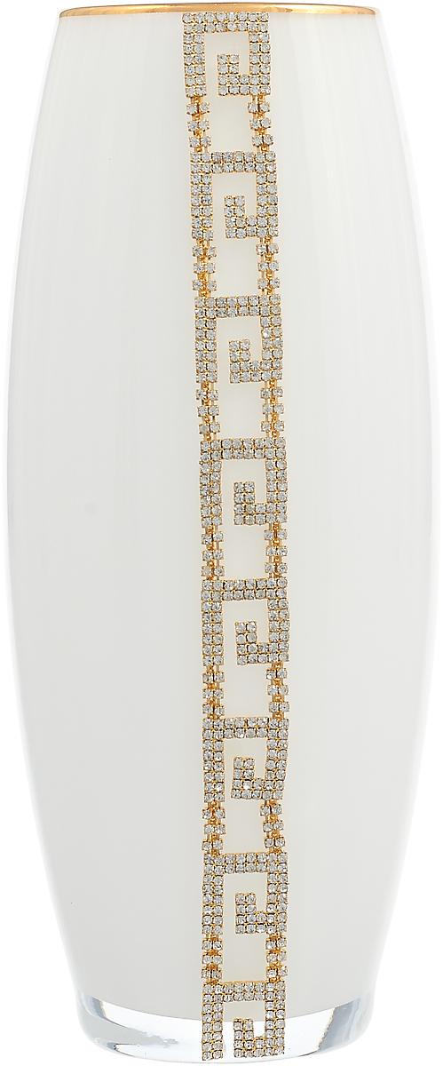 Ваза Lefard, 802-165712, белый, высота 26 см ваза arti m 882 058 золотой высота 18 см