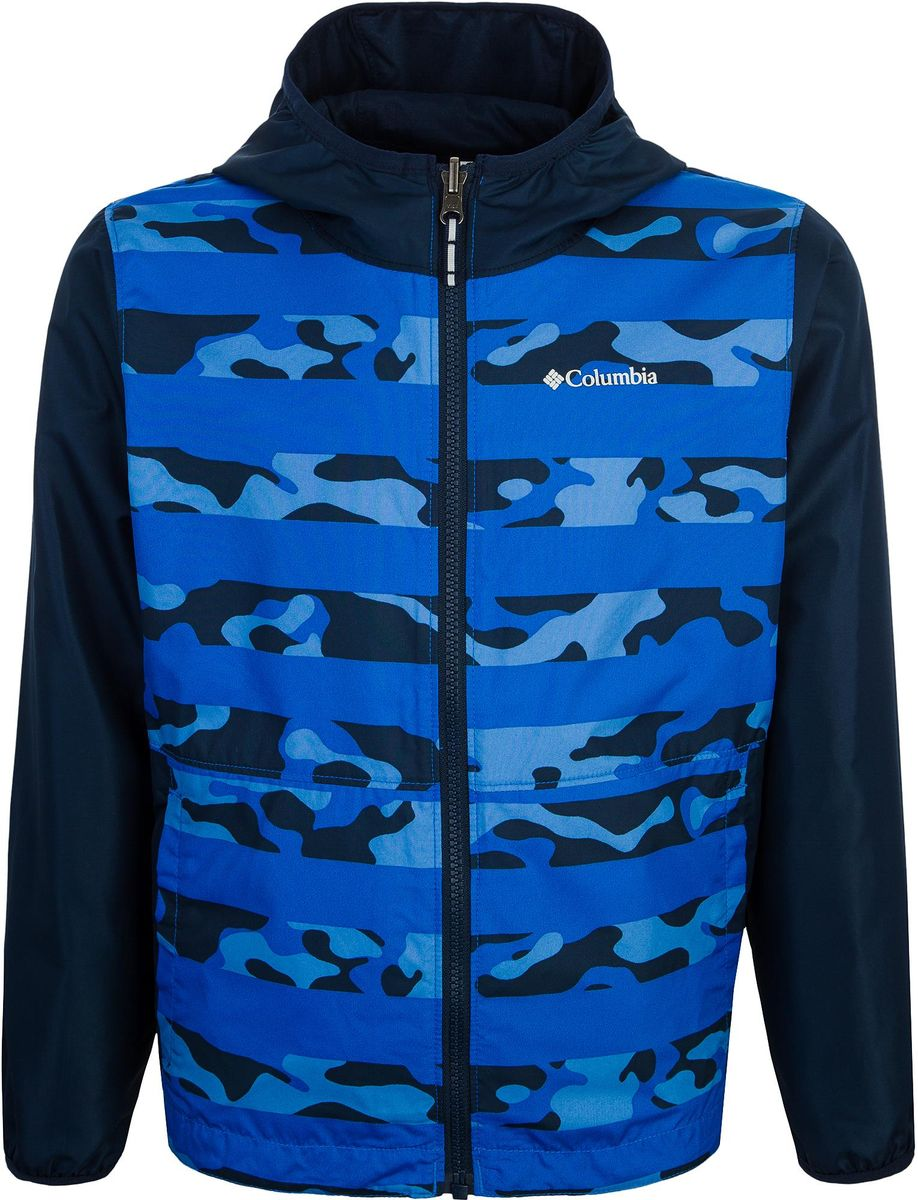 Ветровка Columbia Pixel Grabber Reversible Jacket цена и фото