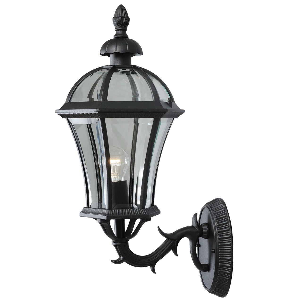 Светильник De Markt 811020101811020101Уличный светильник из коллекции «Сандра» - воплощение утонченного и строгого вкуса. Чёрное основание из алюминия выглядит очень изящно. Под стать ему – стеклянный плафон необычной, плавно изогнутой формы. Светильник своим дизайном напомнит о средневековых интерьерах. Он гармонично дополнит обстановку беседки, веранды, холла или террасы. Рекомендуемая площадь освещения порядка 5 кв.м.