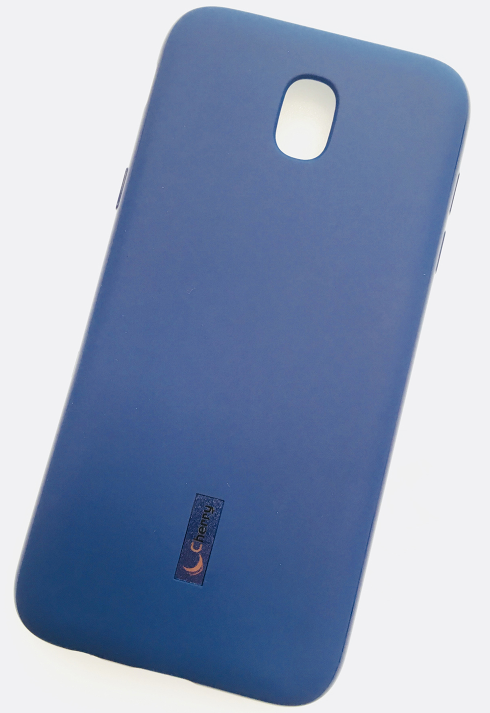 Чехол для сотового телефона Cherry Samsung J5 2017 Накладка резиновая с пленкой на экран, синий