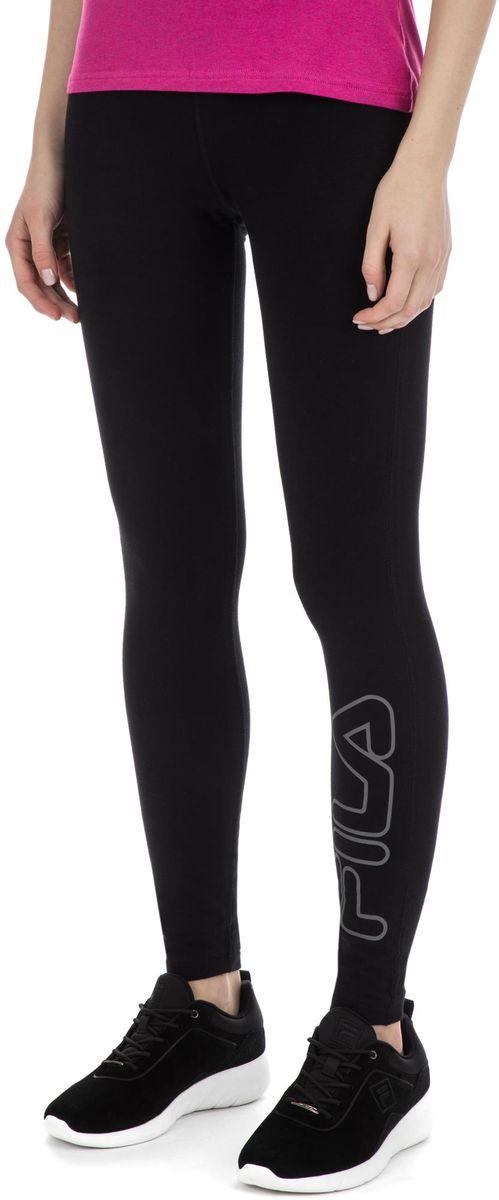 Леггинсы женские Fila Women's Leggings, цвет: черный. S19AFLPAW07-99. Размер XS (42) футболка для мальчика fila цвет черный a19afltsb03 99 размер 164