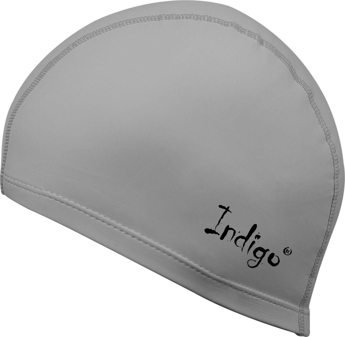 Шапочка для плавания Indigo, IN048, серый