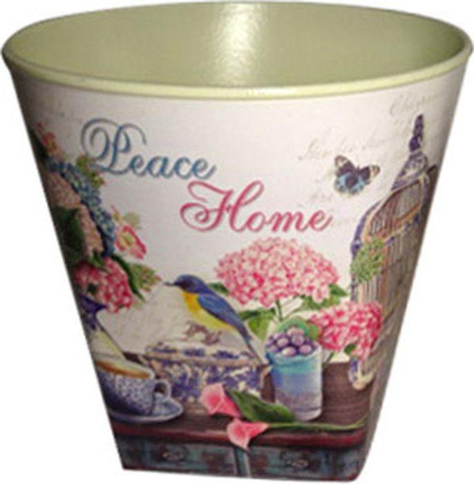 Кашпо декоративное Village People Цветы, диаметр 12 см цены онлайн