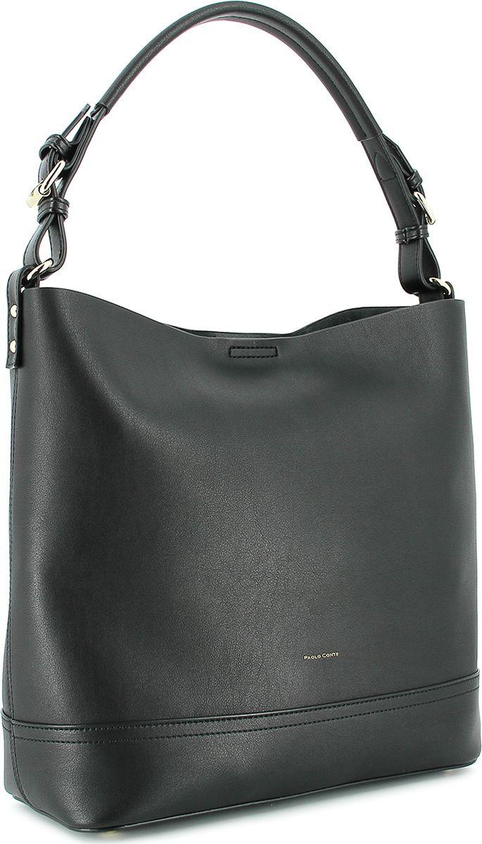 Сумка женская Paolo Conte, B1-763-31-4, черный туфли женские paolo conte цвет черный b1 124 12 2 размер 35