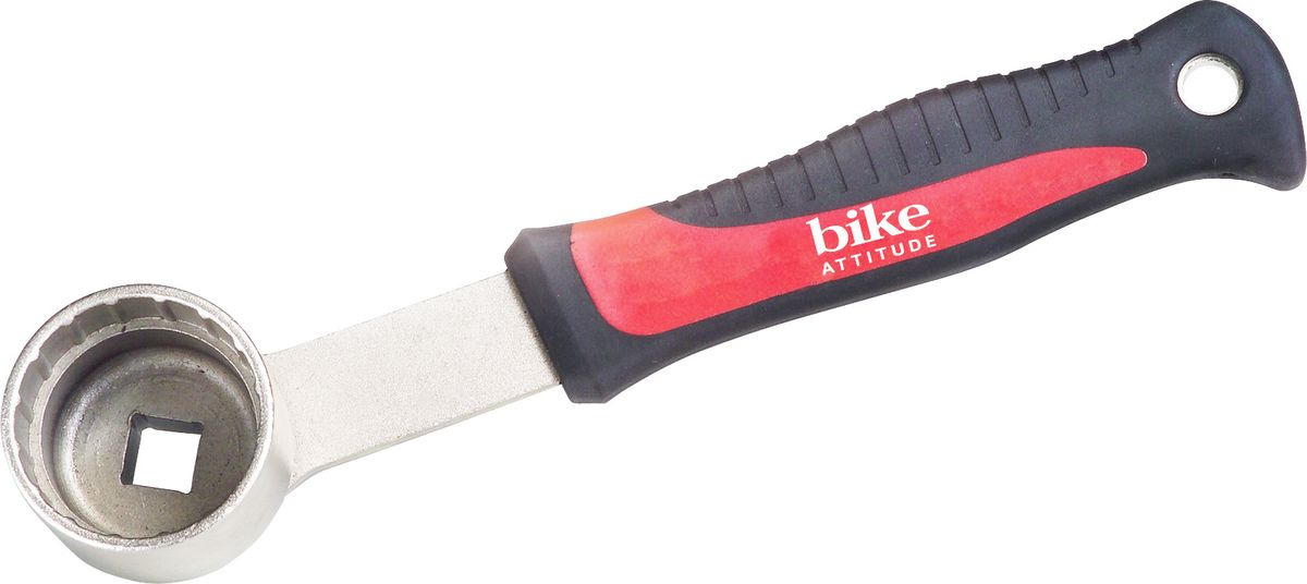Съемник каретки Bike Attitude, YC29BB, для Shimano Hollowtech II BB Truvativ, Race Face, Campagnolo, серебристый