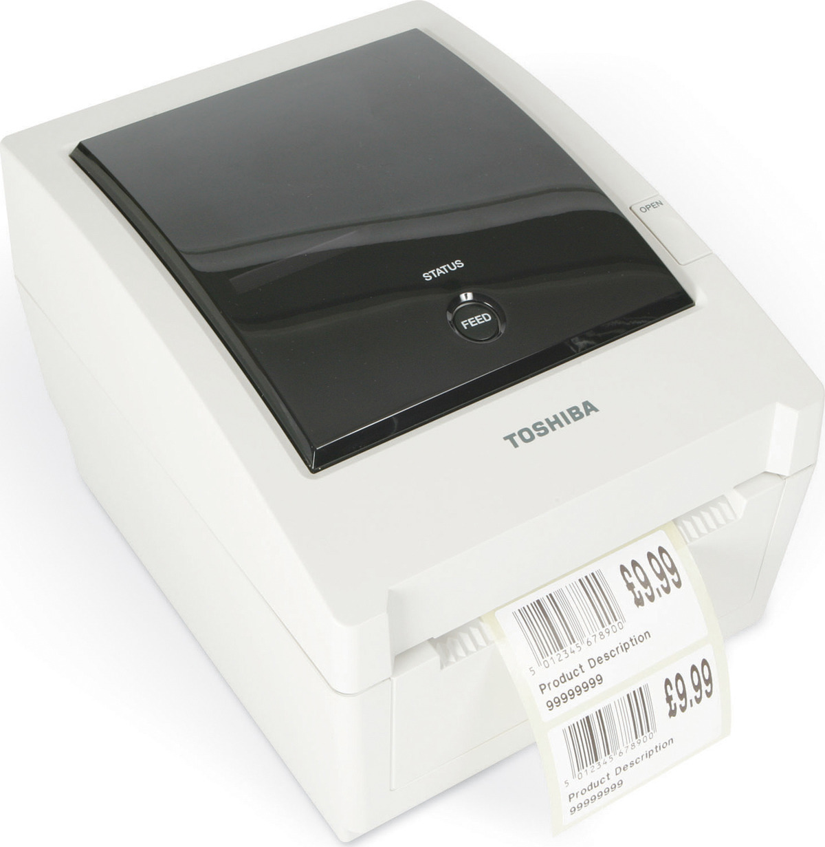 Принтер этикеток Toshiba B-EV4D-GS14-QM-R, белый
