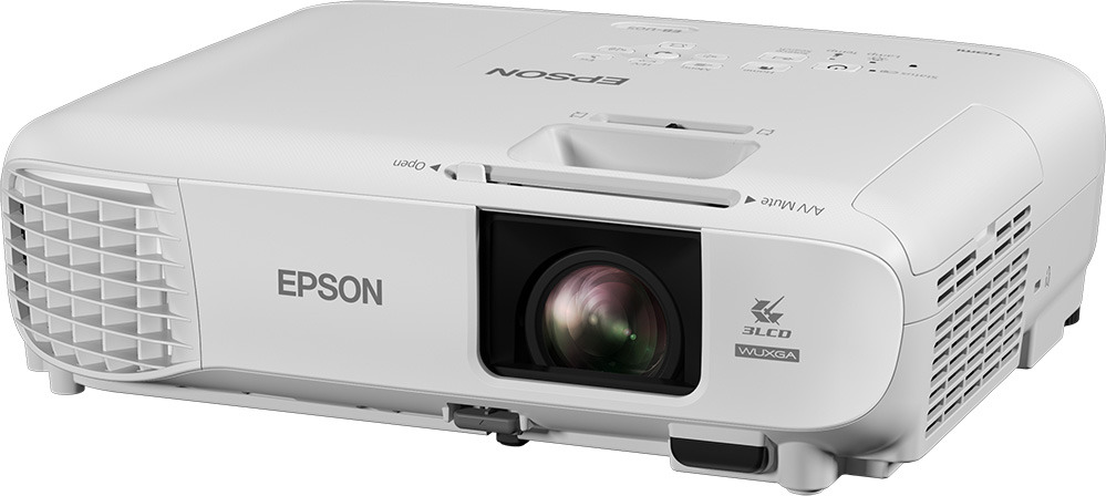 Проектор для аудиторий Epson EB-U05, белый проектор epson eb u05
