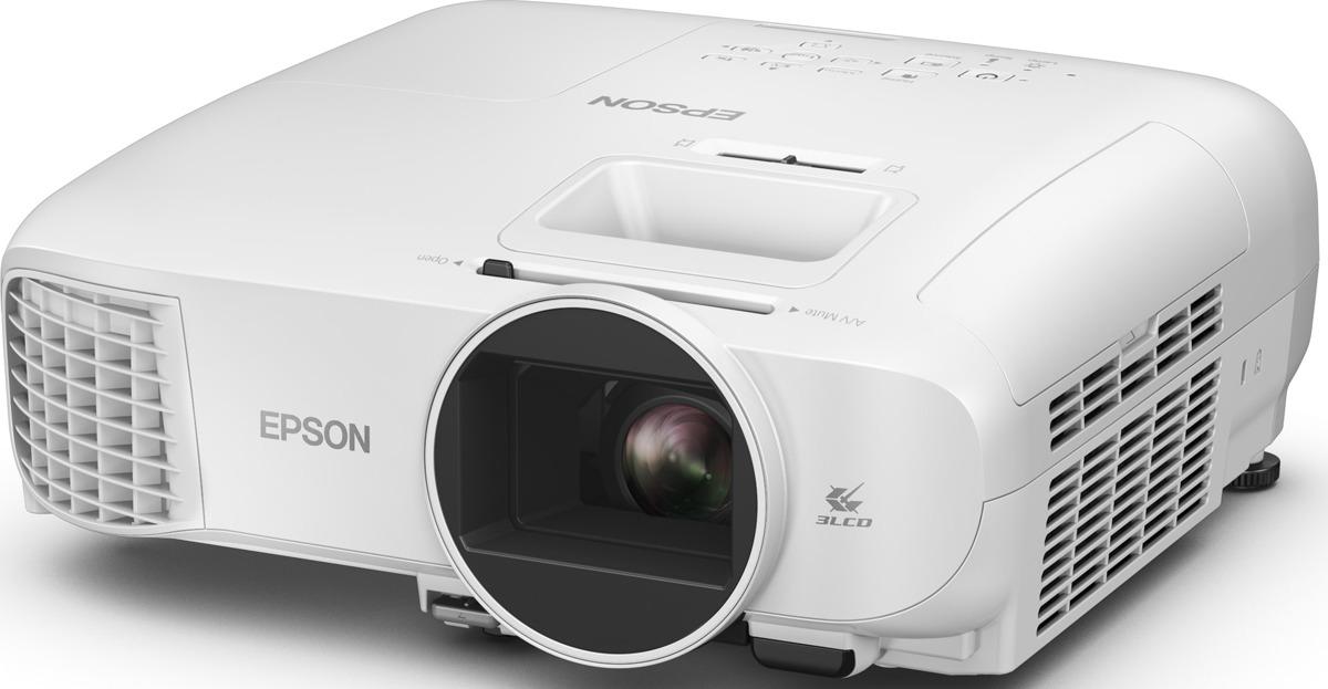 Мультимедийный проектор Epson EH-TW5400, белый