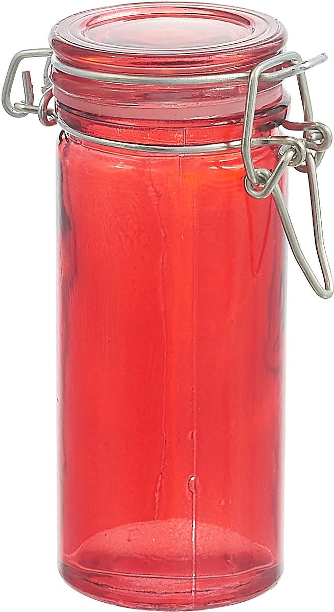 Банка для сыпучих продуктов Mayer & Boch, 27029-1, красный, 100 мл27029-1Банка для сыпучих продуктов MAYER&BOCH выполнена из высококачественного стекла.. Банка предназначена для хранения различных сыпучих продуктов: сахара, соли и т.п. Крышка с фиксатором препятствует проникновению влаги и посторонних запахов. Необычная и оригинально оформленная банка украсит любую кухню. Изделие не впитывает запахи и легко моется.