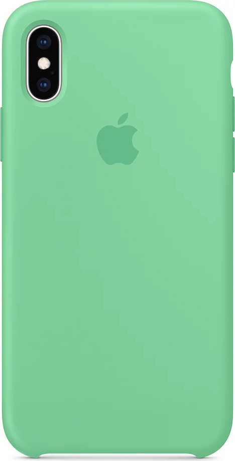 Чехол для сотового телефона Apple Silicone Case для iPhone XS, spearmint чехол для apple iphone xs max silicone case nectarine