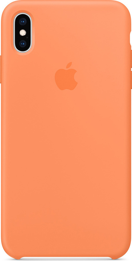 Чехол для сотового телефона Apple Silicone Case для iPhone XS Max, papaya чехол для apple iphone xs max silicone case nectarine