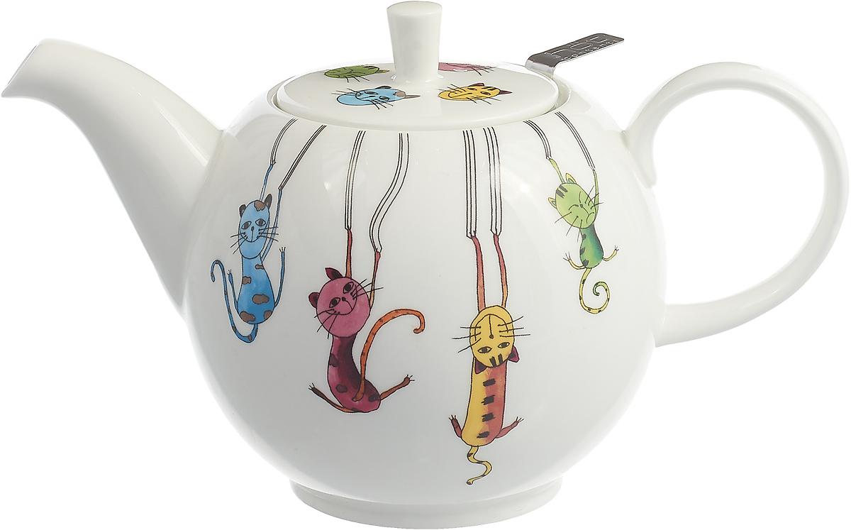 Чайник заварочный Gutenberg Паркур, 009912, разноцветный, 1 л цена и фото