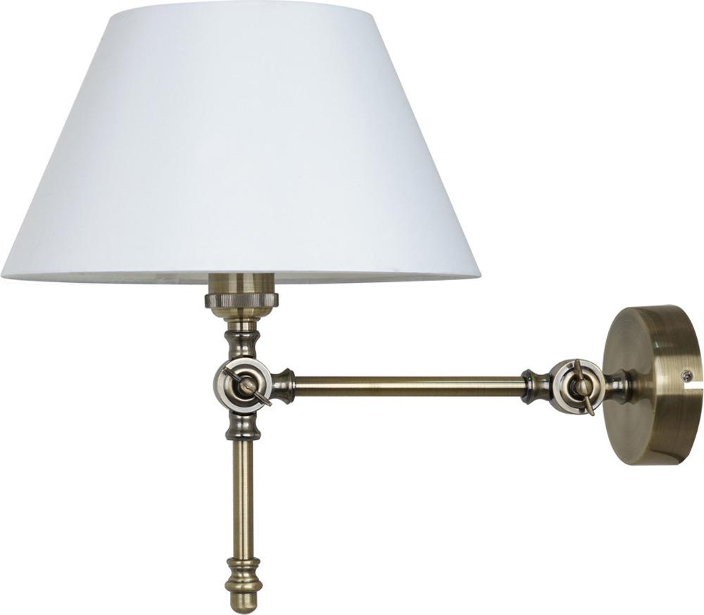 Настенный светильник Arte Lamp Orlando, A5620AP-1AB, бронза