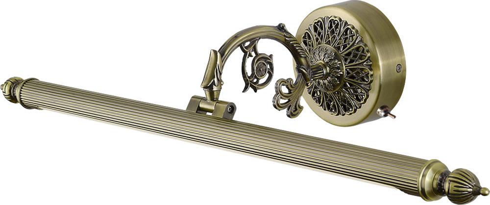 Настенный светильник Arte Lamp Bari, A6712AP-1AB, бронза