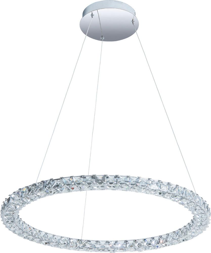 Подвесной светильник Arte Lamp Preziosi, A6717SP-1CC, серый металликA6717SP-1CCПодвесной светильник итальянской компании Arte Lamp, выполнен в стиле Современный. Светильник представлен в коллекции Orizzone. Основной материал светильника - Хрусталь. Типом крепления осветительного прибора является Подвесное. Предусмотрено использование ламп типа Лампа Светодиодная, с цоколем LED. Количество ламп - 1. Мощность ламп - до 6 Ватт. Конструкция и степень пылевлагозащищенности прибора позволяют использование в жилых помещениях.