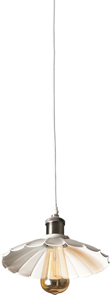 Подвесной светильник Arte Lamp Asti, A8160SP-1WH, белый