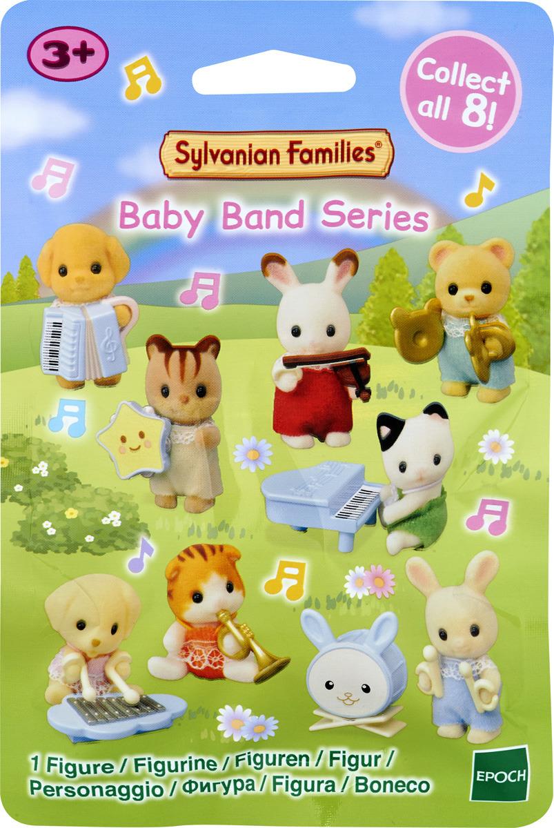 Игровой набор Sylvanian Families Музыкальный кружок, 5325 игровые наборы sylvanian families игровой набор малыш той пудель