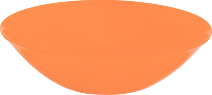 Салатник Luminarc Amбиантэ, L6417, оранжевый, диаметр 16 см