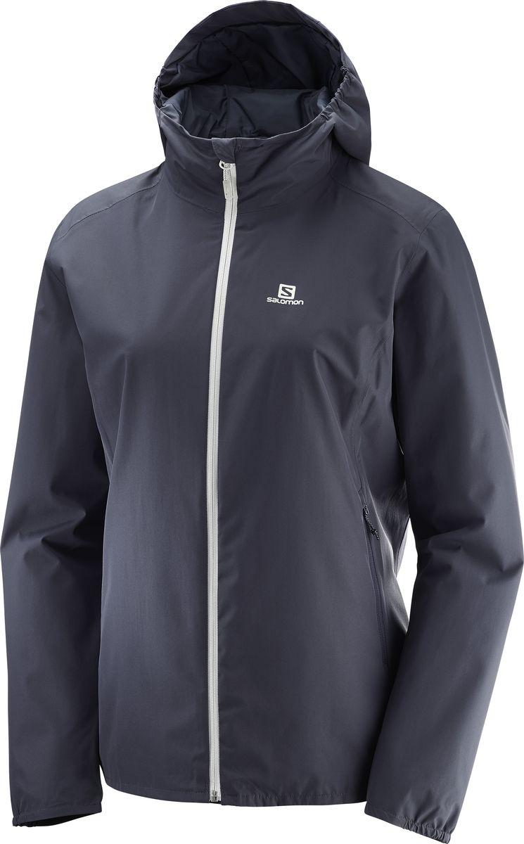 Ветровка SalomonL40072200Женская куртка ESSENTIAL JACKET подойдет тем, кому нужно тепло без дополнительного веса. Легкая как перышко, она изготовлена из мягкой на ощупь, полностью водонепроницаемой ткани. Кроме того, благодаря частично эластичным капюшону, кромке и манжетам эта удобная куртка готова к любым приключениям. Легкая куртка, в которой вы всегда останетесь сухим. Минимальный вес Продуманный покрой делает эту куртку исключительно легкой. Водонепроницаемость Полностью водонепроницаемая ткань гладкого плетения позволяет всегда оставаться сухим. Стильные акценты Акцентированные молнии создают стильный образ.