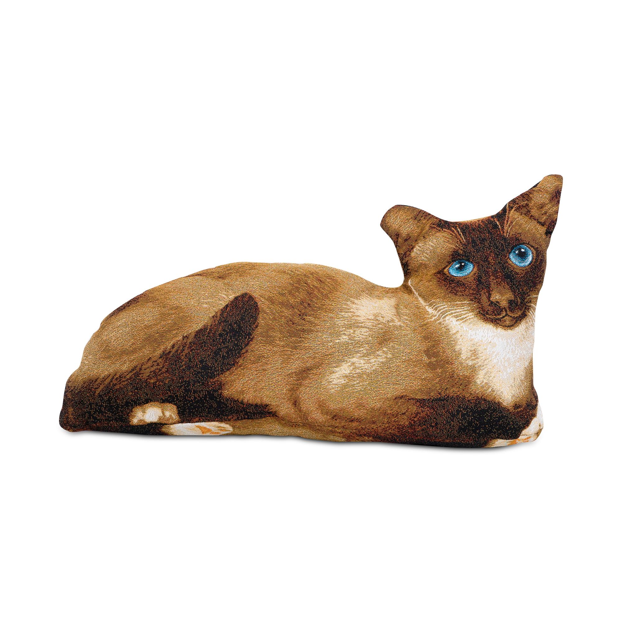 Подушка-игрушка Магазин гобеленов матильда 70*35 см2964Гобеленовая подушка игрушка кошка матильда. Идеальный подарок для любителей котов,кошечек,котиков.