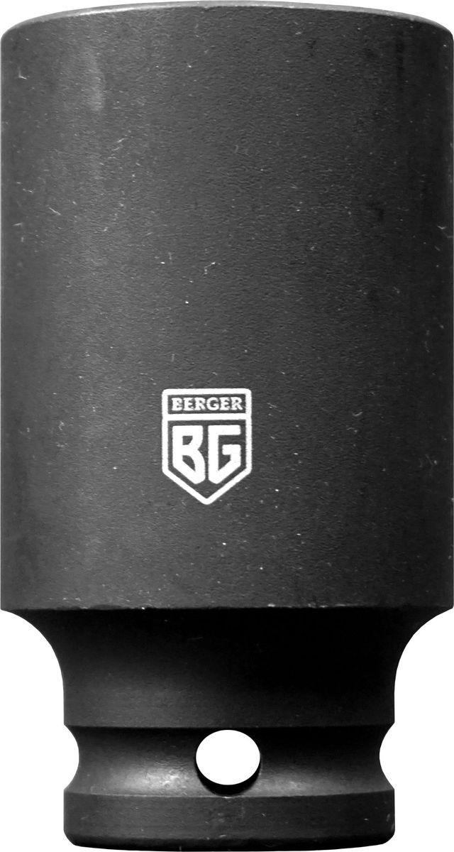 Торцевая головка ударная Berger удлиненная, 1/2, 22 мм, BG2143 торцевая головка ударная berger удлиненная 1 2 30 мм bg2146