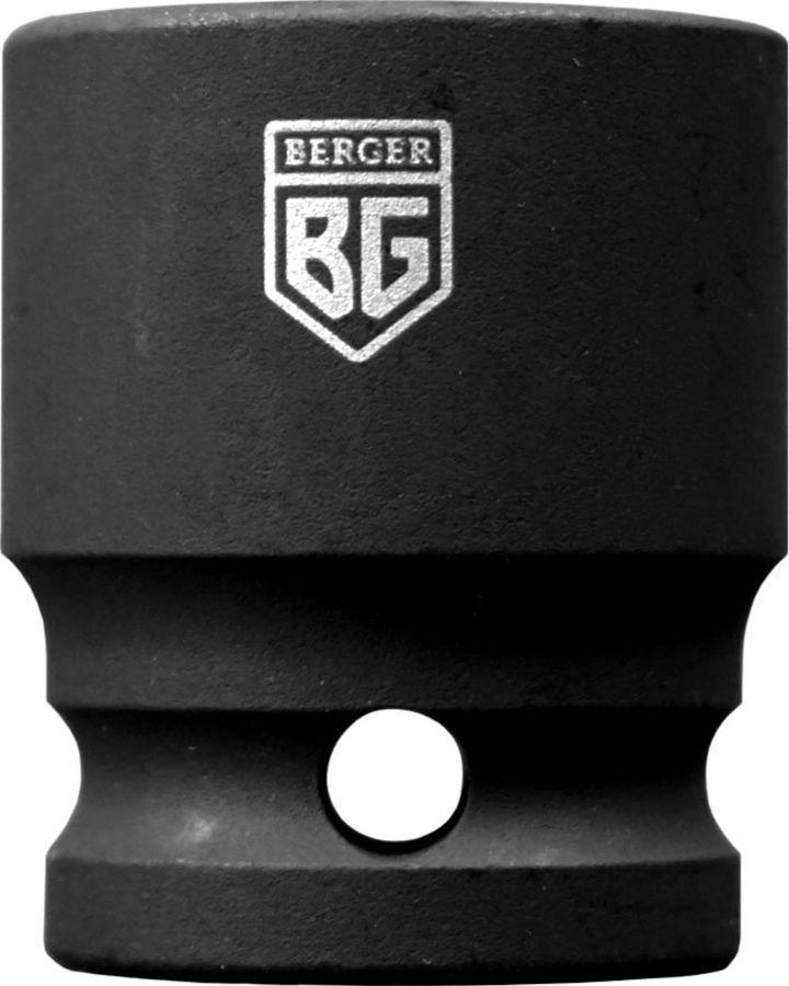 Торцевая головка ударная Berger 1/2, 13 мм, BG2117 головка торцевая berger bg 12sd27 удл 1 2 6 гранная 27мм superlock