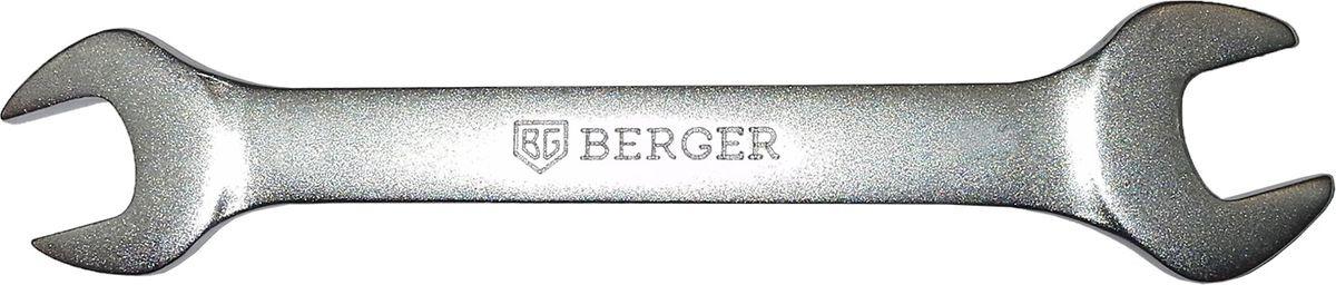 Ключ Berger рожковый, 17 х 19 мм, BG1091 ключ berger рожковый 21 х 22 мм bg1092