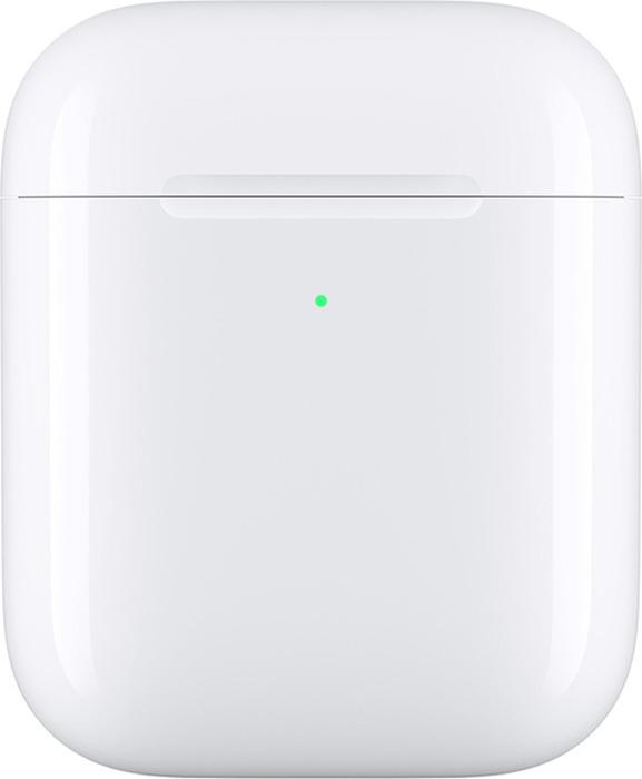 Футляр для наушников Apple MR8U2RU/A с возможностью беспроводной зарядки для AirPods, белый беспроводной правый наушник apple airpods