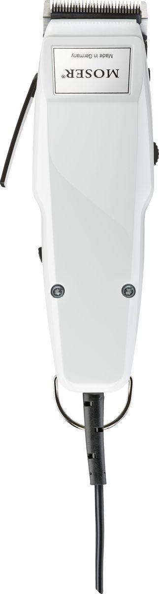 Машинка для стрижки Moser Edition 1400-0268, белый машинка для стрижки moser 1556 5760 designer нож для машинки 1556 5760