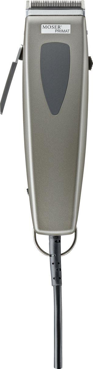 Машинка для стрижки Moser Primat 1233-0051, серый металлик машинка для стрижки волос moser 1230 0051 primat light grey