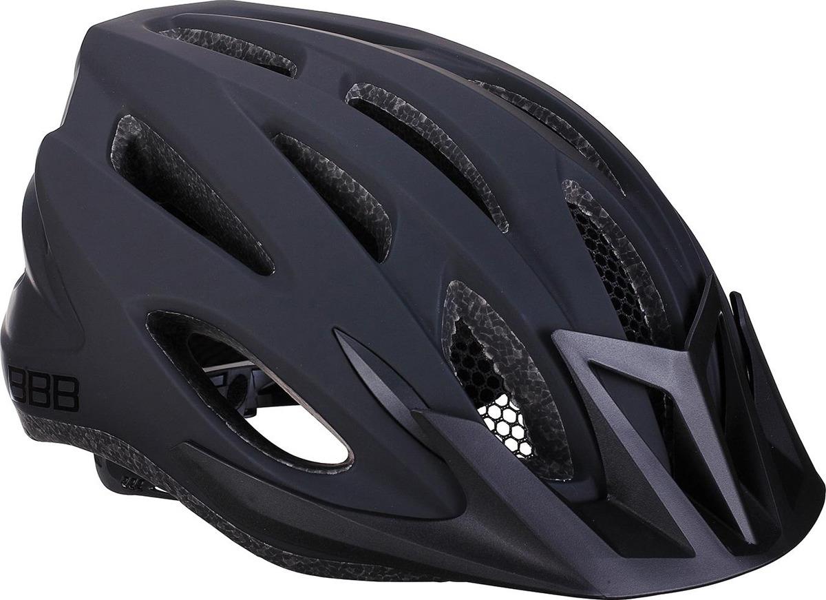 Велошлем BBB Condor, черный. Размер M велошлем bbb 2015 14 отверстий helmet hawk бело черный us m 55 58 см bhe 27