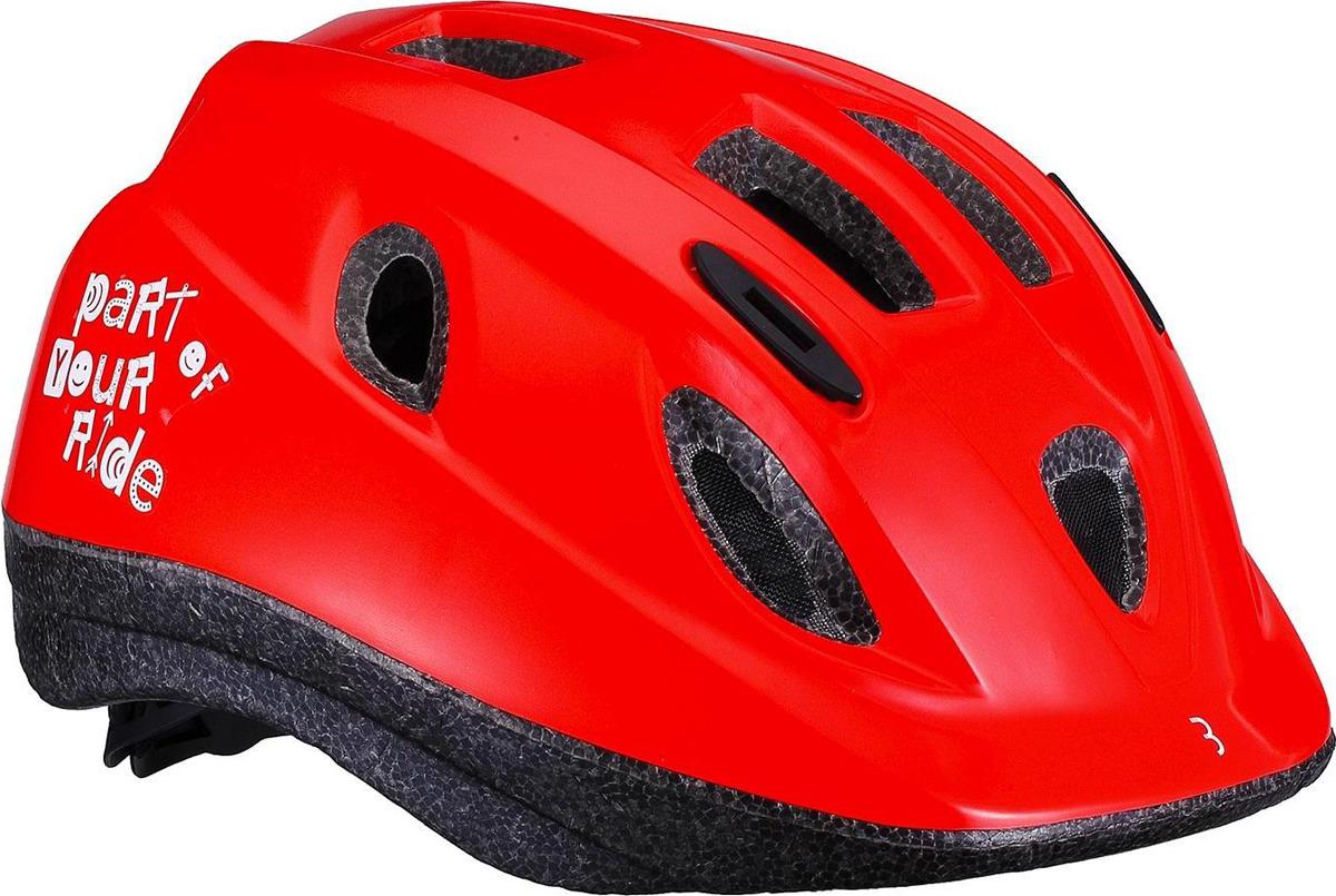 Велошлем BBB Boogy, красный. Размер M велошлем bbb 2015 14 отверстий helmet hawk бело черный us m 55 58 см bhe 27