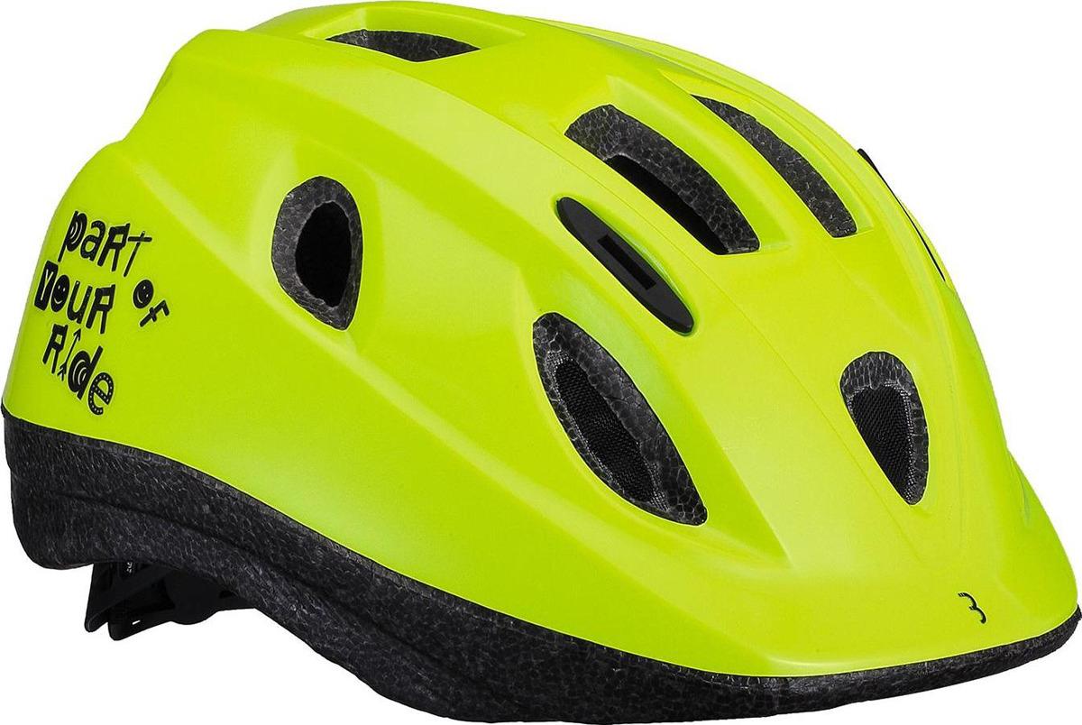 Велошлем BBB Boogy, желтый. Размер M велошлем bbb 2015 14 отверстий helmet hawk бело черный us m 55 58 см bhe 27