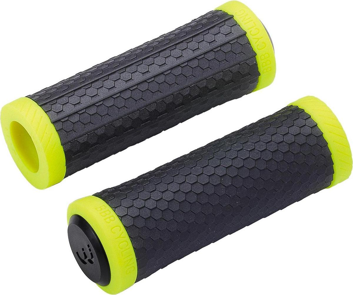 Грипсы BBB Viper, черный, желтый, 92 мм