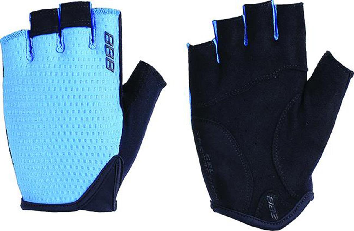 Перчатки велосипедные BBB Racer, синий. Размер M улитка wonny zx 090 велосипедные перчатки антискользящие шок летние дышащие перчатки перчатки перчатки синий m