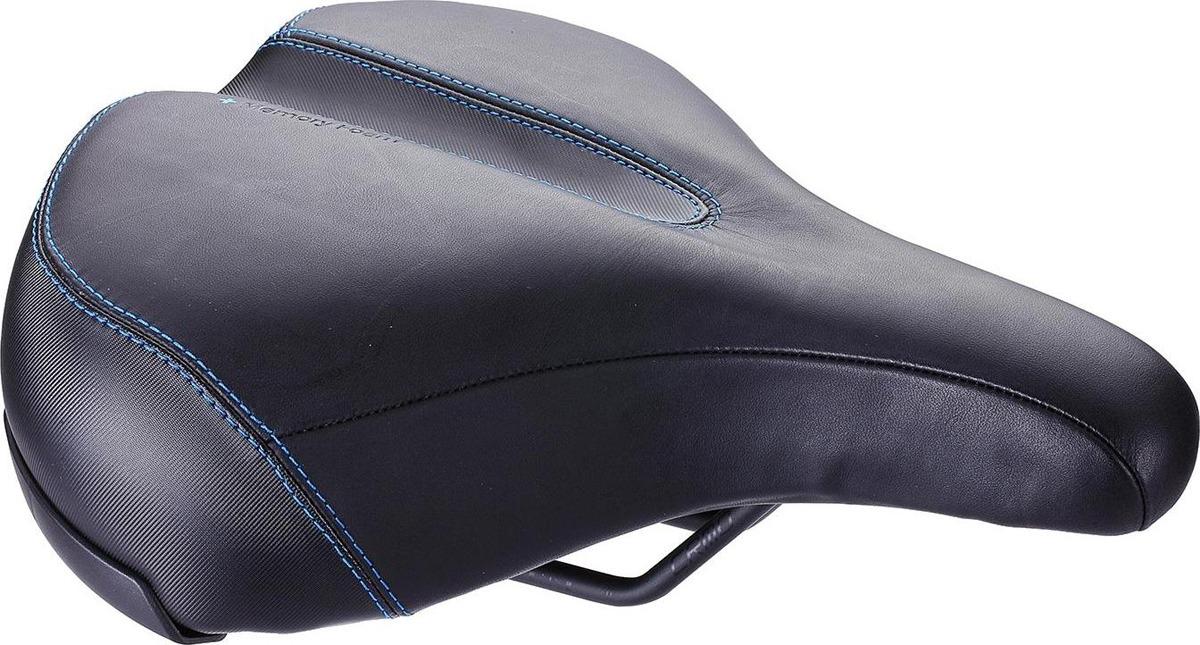 Седло велосипедное BBB ComfortPlus, черный, 23 х 27 см