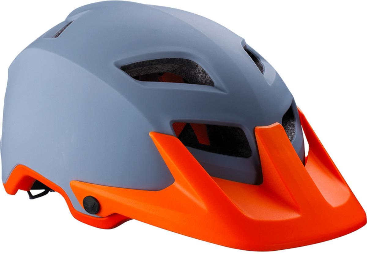 цена на Велошлем BBB Ore, серый, оранжевый. Размер L