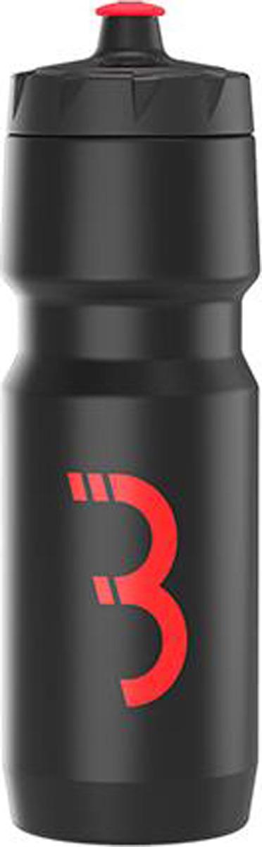 Фляга велосипедная BBB CompTank, черный, красный, 750 мл цены онлайн