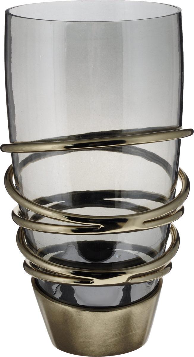 Ваза Lefard, 732-104, прозрачный, 21 х 21 х 37 см ваза lefard восточный кувшин 114 352 21 5 х 21 х 53 см