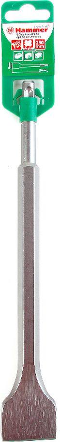 Зубило Hammer Flex 201-303 DR CH SDS+, плоское, 40 х 250 мм зубило messer широкое для перфоратора sds plus 40 x 250 мм